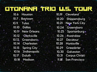 OTONANA TORIO U.S TOUR