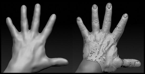 3Dスキャンデーター