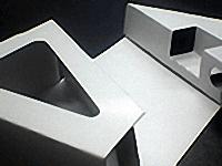 真空成形に付帯する加工(紙製品)